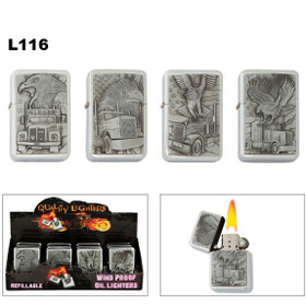 Oil Lighters Wholesale | Assorted Eagles | Trucks