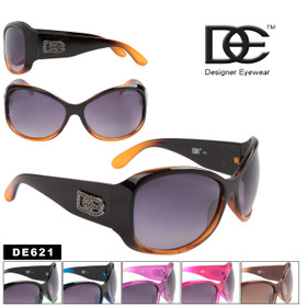 DE Designer Eyewear New High Fashion Sunglasses DE621 (Assorted Colors) (12 pcs.)