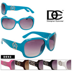 DE Designer Eyewear New Flower Style! DE92 (Assorted Colors) (12 pcs.)