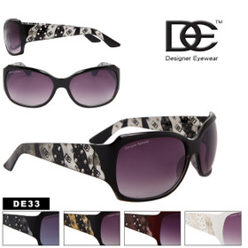 DE Designer Eyewear Popular Rhinestone Style DE33 (Assorted Colors) (12 pcs.)