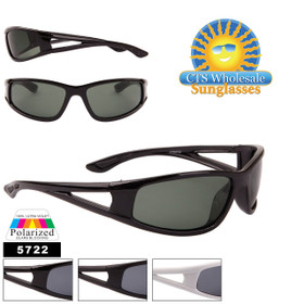 Polarized Sports Sunglasses by the Dozen - Style #5722
