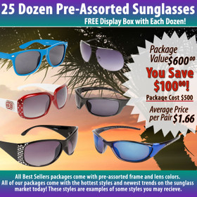 Package Deal 25 Dozen Assorted Styles ~ (25 dzn.) (Assorted Colors)