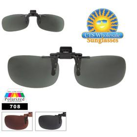 Clip On Sunglasses with Polarized Lens 708