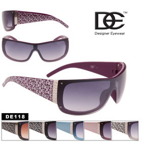 Wholesale Stunners Sunglasses - Style #DE118 (Assorted Colors) (12 pcs.)