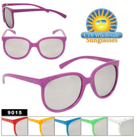 Mirrored Bulk Sunglasses - Style #9015
