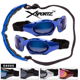 Motor Cross Goggles Wholesale G9000 (Assorted Colors) (12 pcs.)