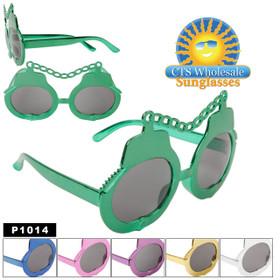 Party Glasses ~ Handcuffs  ~ P1014 (12 pcs.) (Assorted Colors)