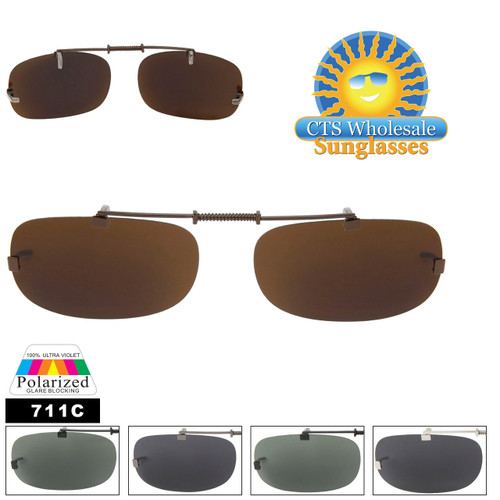 Clip On Sunglasses Wholesale with Polarized Lens 707