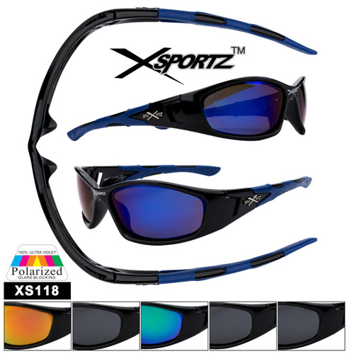 Wholesale Polarized Xsportz™ Sunglasses - Style #XS118