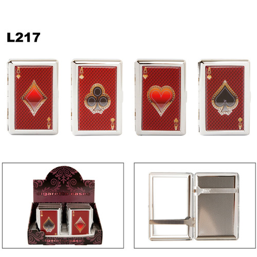 Cigarette Cases L217 ~ Aces