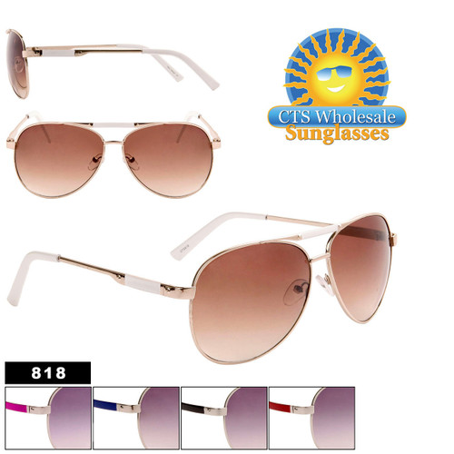 Bulk Aviator Sunglasses - Style #818