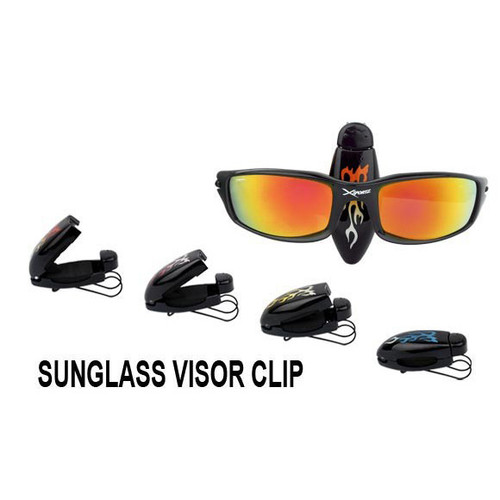 Visor Clips with Flames