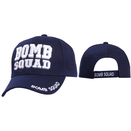Wholesale Caps ~ Bomb Squad C1041 ~ Navy Blue