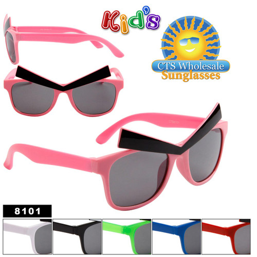 Kid's Sunglasses by the Dozen - Style # 8101