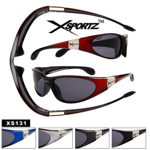 Wholesale Sports Sunglasses by the Dozen - Style # XS131