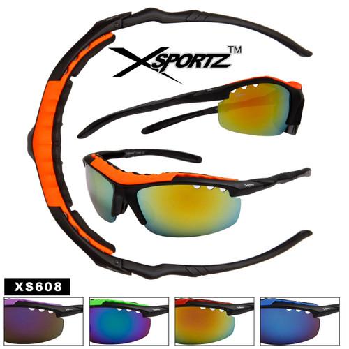Xsportz™Wholesale Sports Sunglasses - Style # XS608