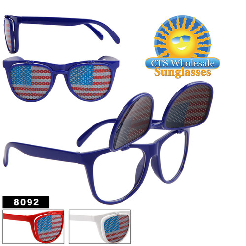 Wholesale American Flag Flip Up California Classics- 8092