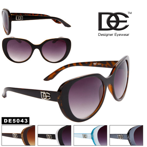 Wholesale Cat Eye Designer Sunglasses - DE5043