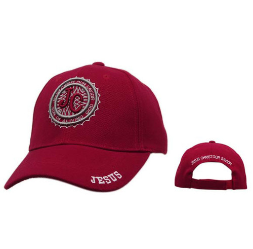 Red Christian Baseball Cap Wholesale