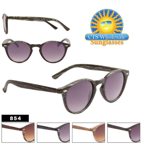 Wholesale Wood Sunglasses - Style #854