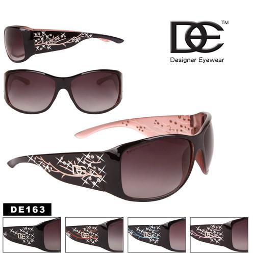 DE™ Designer Eyewear Bulk Rhinestone Sunglasses - Style #DE163