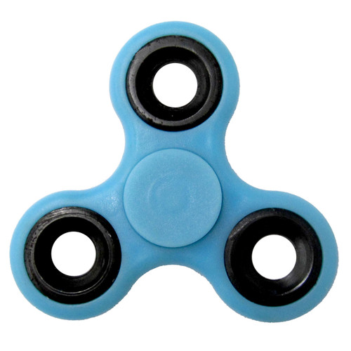 Light Blue Fidget Spinner