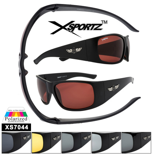 Bulk Polarized Xsportz™ Driving Sunglasses XS7044