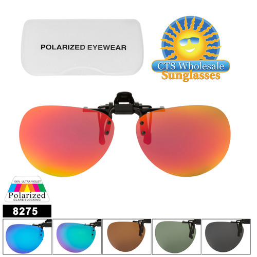 Polarized Clip Ons Flip-up Style 8275
