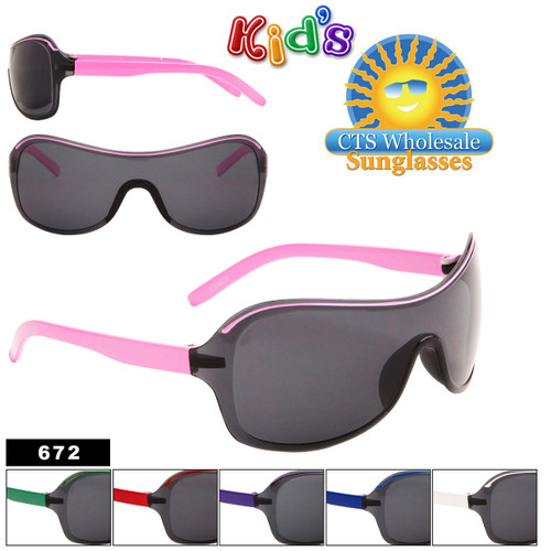 Wholesale Kid's Sunglasses - Style #672