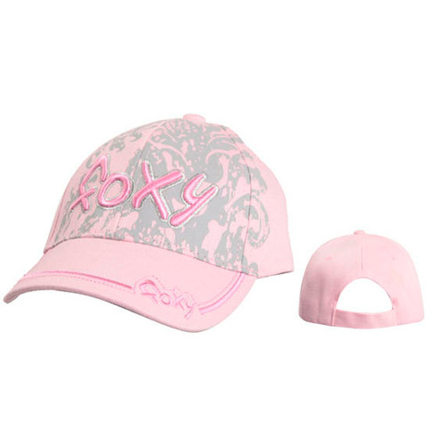 "Wholesale Juniors' ""FOXY"" Baseball Hat ~PInk"