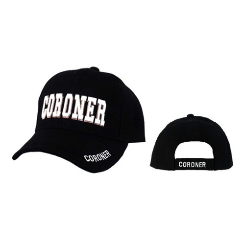 "Wholesale Caps ""Coroner"""