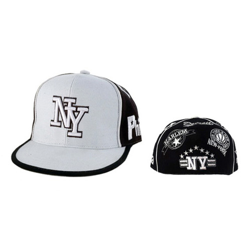 NY Fitted Baseball Cap