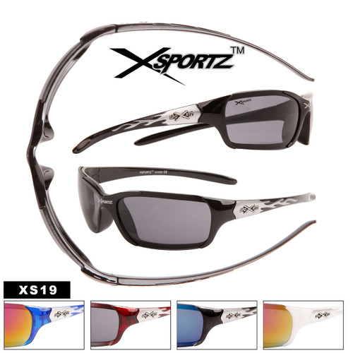 Xsportz™ Wholesale Men's Sunglasses - Style #XS19