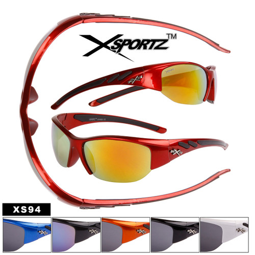 Xsportz™ Bulk Sports Sunglasses - Style #XS94