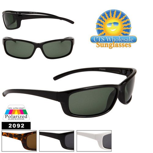 Polarized Sports Sunglasses 2092
