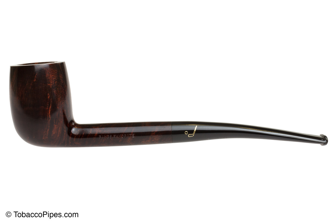 Savinelli Bings Favorite Smooth Tobacco Pipe Left Side
