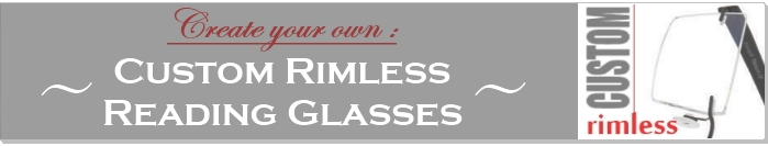 Build your custom rimless readers