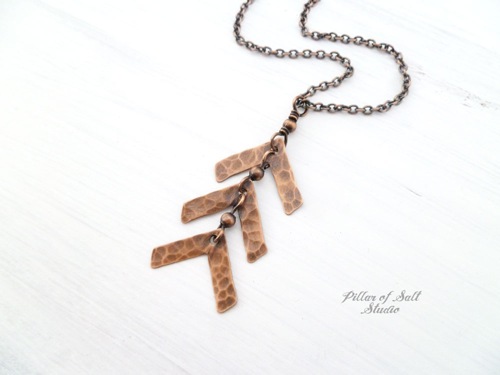 jewelry arrow necklace minx large products
