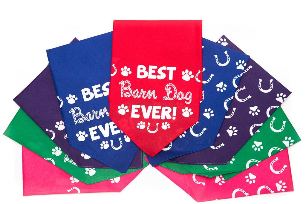 Best Barn Dog Bandana