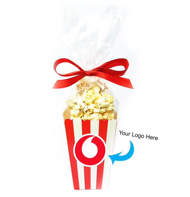 Branded Popcorn Box- Sweet or Salted