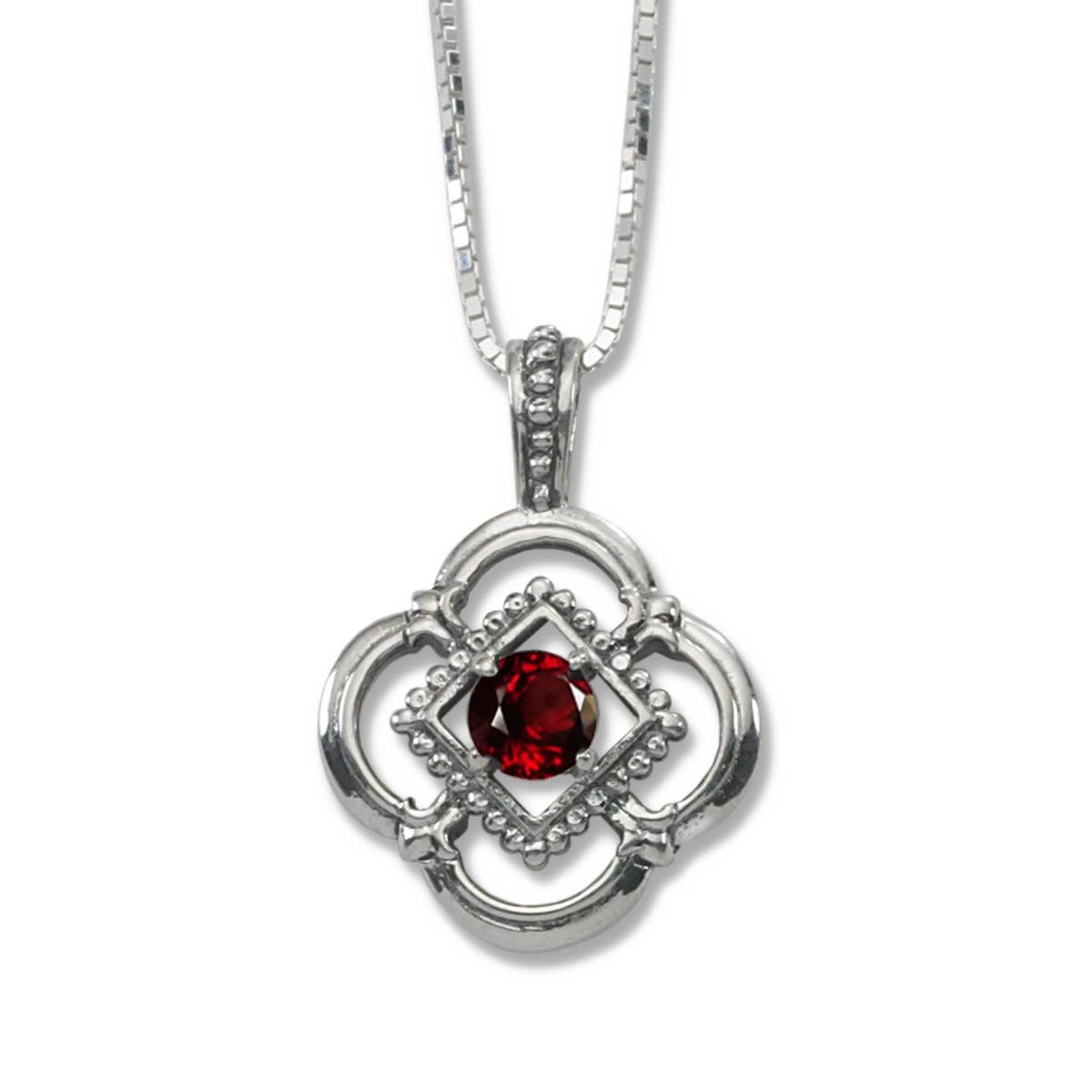 Explore adorable collection of sterling silver garnet pendant sterling silver verona genuine garnet pendant aloadofball Images