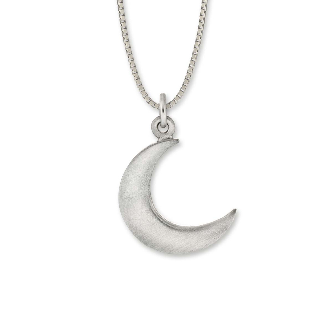 perfect moon the products white fine marrow crescent under pendant