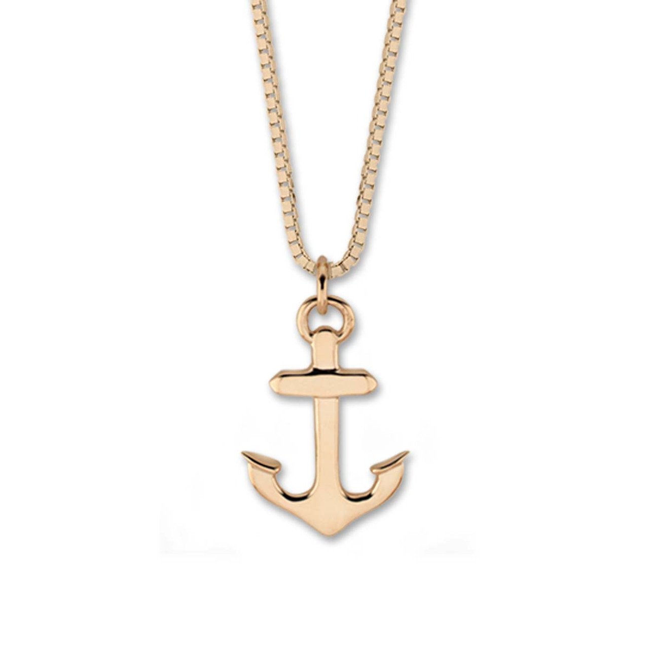 Buy 14kt small anchor pendant from online jewelry store 14kt small anchor pendant aloadofball Images