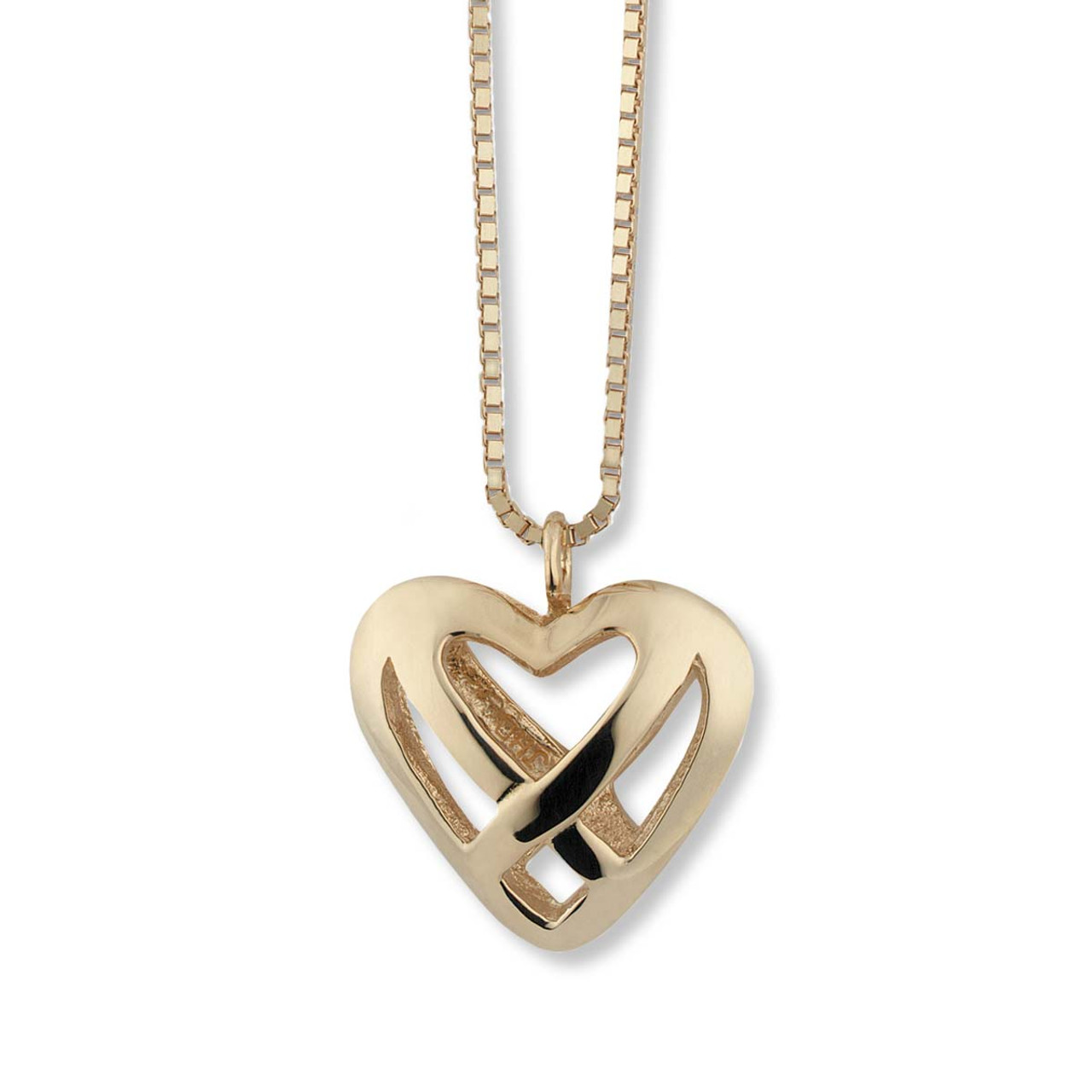 14kt celtic heart pendant jh breakell co sku gpd050 gift wrapping options available 14kt celtic heart pendant aloadofball Images