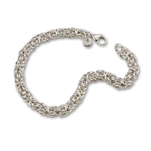 Handmade Ancient art Sterling Silver Byzantine Bracelet