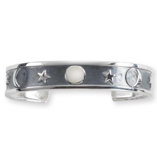Sterling Silver Lunar Cuff