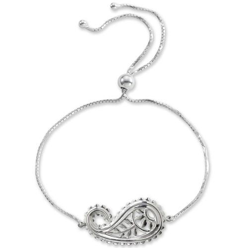 Sterling Silver Taj Bracelet