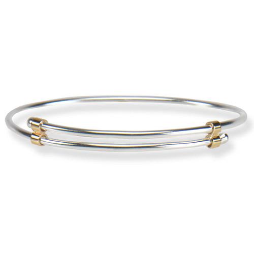 Sterling & 14kt Newport Bracelet