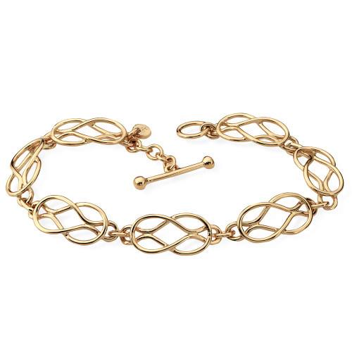 14kt Love Knot Bracelet