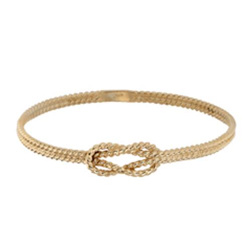 14kt Square Knot Bracelet